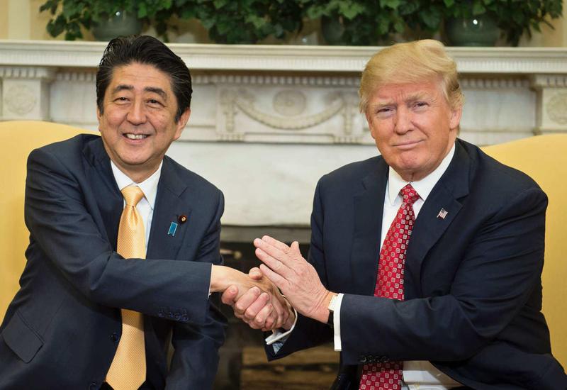 Абэ и Трамп договорились тесно сотрудничать над полноценным проведением Олимпиады в Токио