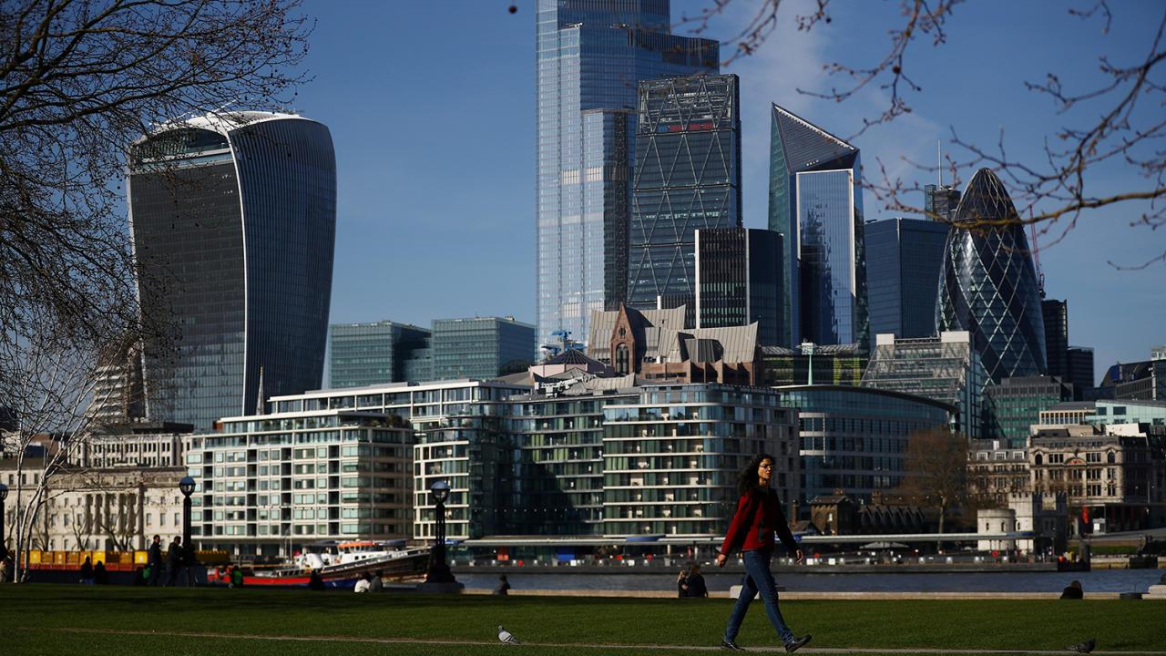 Вот так выглядит Лондон на карантине