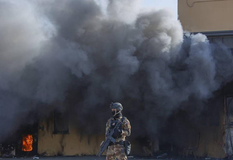 У посольства США в Багдаде упали несколько ракет