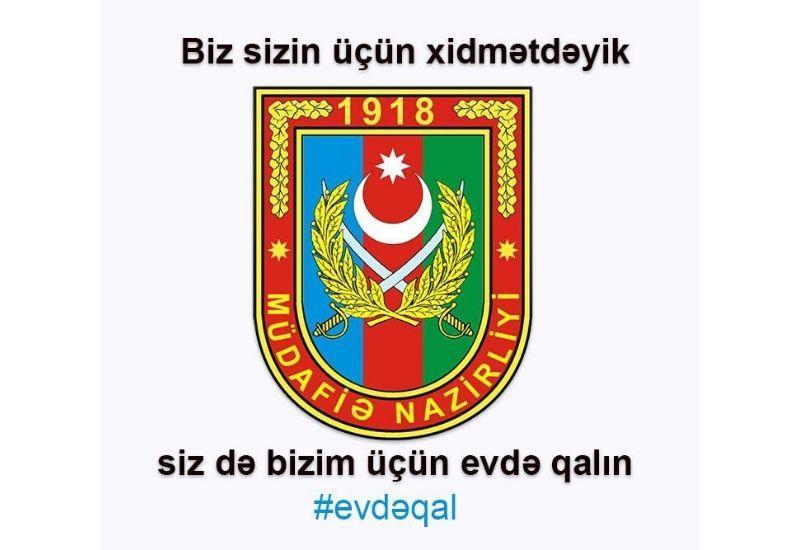 """Азербайджанские солдаты обратились к населению - """"Останьтесь дома ради нас!"""""""