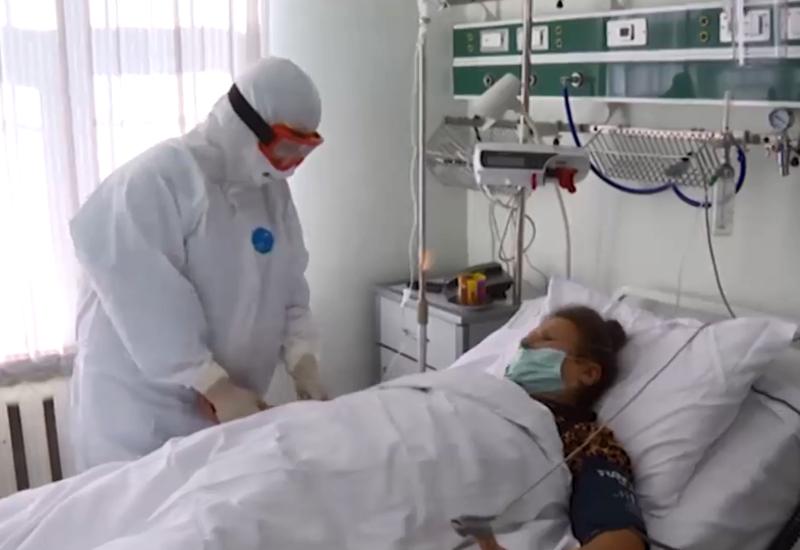 Репортаж из больницы специального карантинного режима в Баку