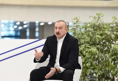 Президент Ильхам Алиев: Если бы мы не уделяли внимания системе здравоохранения, то сегодня наше положение не могло обеспечить наших потребностей