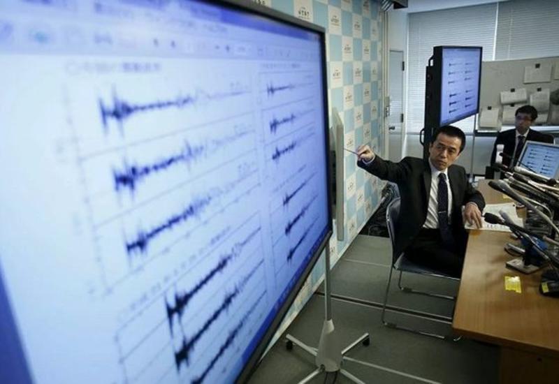 Сильное землетрясение произошло в Японии