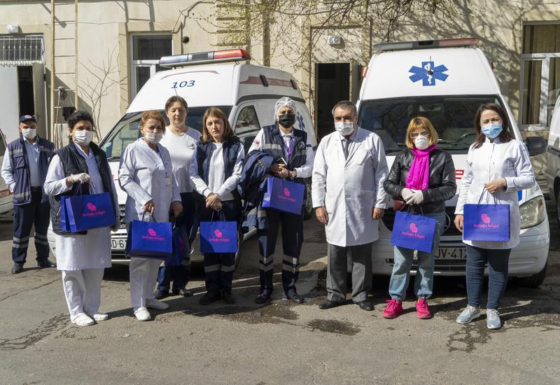 """Национальный бренд """"Azerbaijan Kelagayi"""" поддержал женщин-врачей в борьбе с COVID-19"""