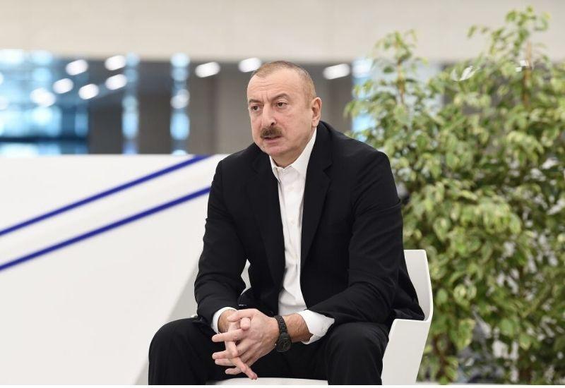 Президент Ильхам Алиев: Мы – великий народ, мы смогли сплотиться в самое тяжелое время