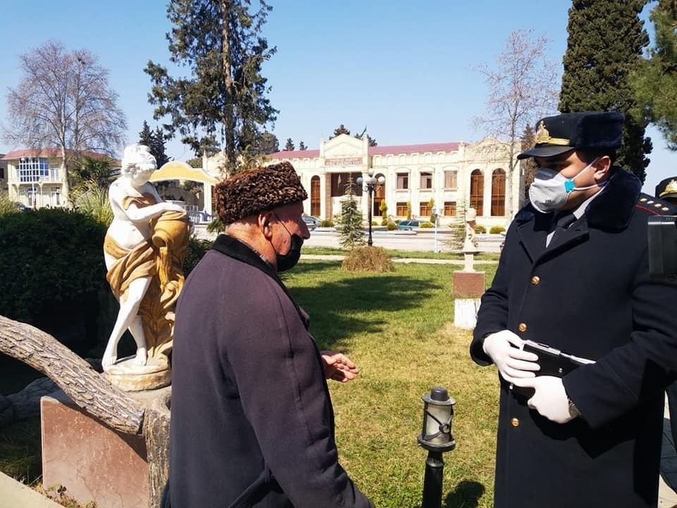 Сотрудники Хачмазского РОП работают в усиленном режиме