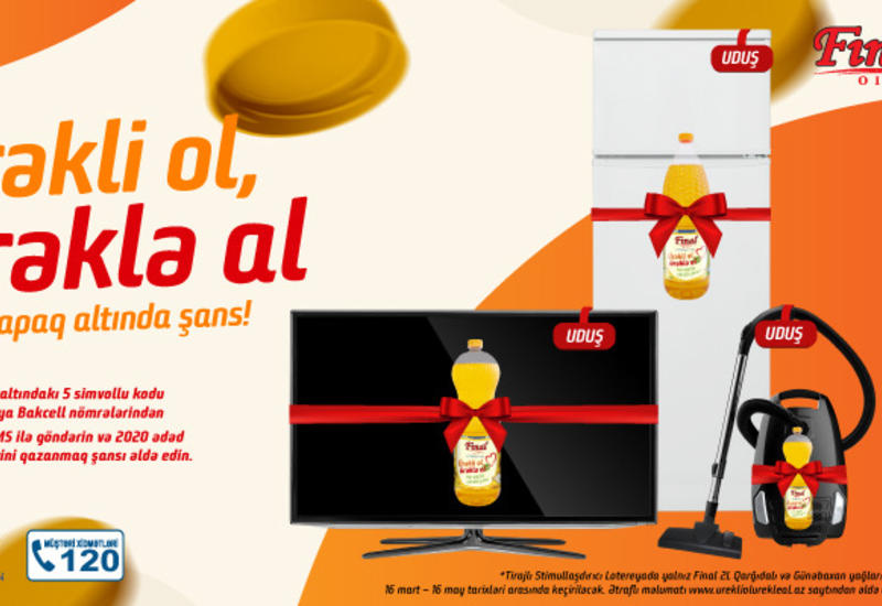 Состоялся первый розыгрыш призов масштабной лотереи «Ürəkli ol, Ürəklə al» (R)