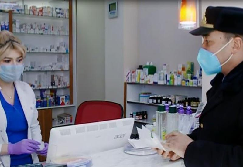 Массовые рейды в аптеках Гянджи
