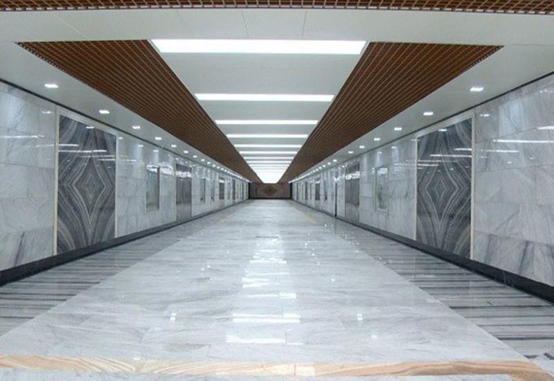 В некоторых подземных пешеходных переходах в Баку ограничено движение