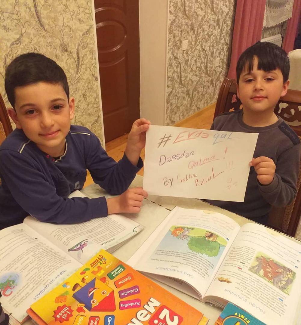 Очень трогательное обращение детей азербайджанских медиков и самых юных граждан