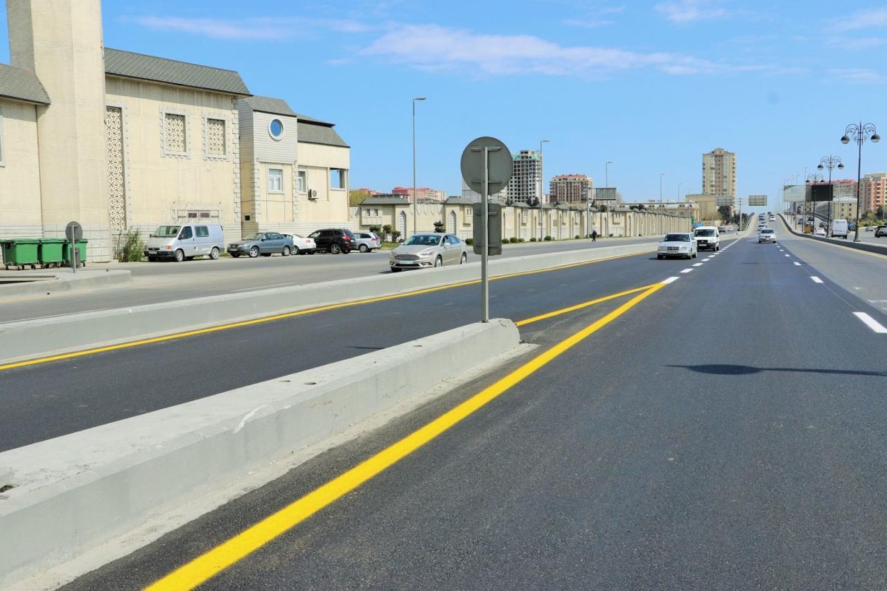 На ряде улиц и проспектов Баку проводятся ремонтные работы