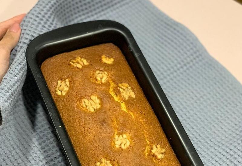 Рецепт апельсинового пирога в блоге Always Hungry Baku