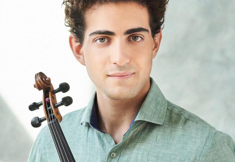Азербайджанский скрипач-виртуоз выступил с онлайн-концертом из Ганновера