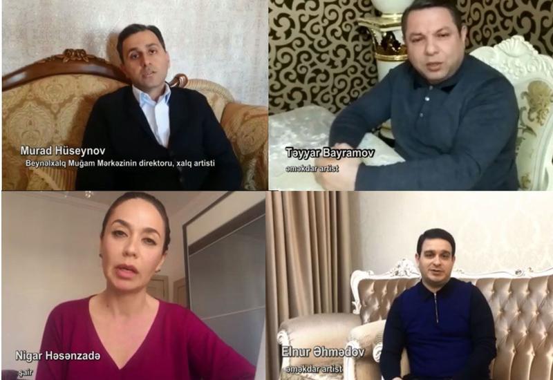 Деятели культуры и искусства Азербайджана обратились к населению в связи с коронавирусом