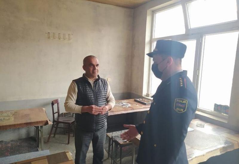 В Шеки закрыли кафе, нарушившее карантинный режим