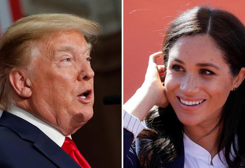 Трамп: США не будут платить за безопасность принца Гарри и Меган Маркл