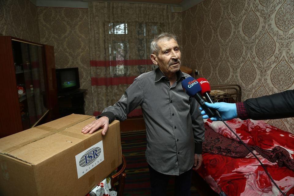 Пожилым и одиноким жителям Гянджи оказана помощь