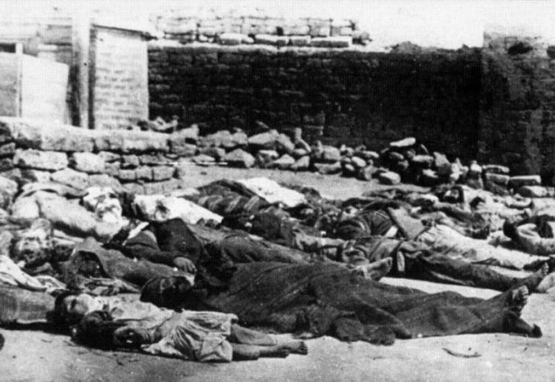Имеются достоверные факты осквернения тел мусульман армянскими агрессорами