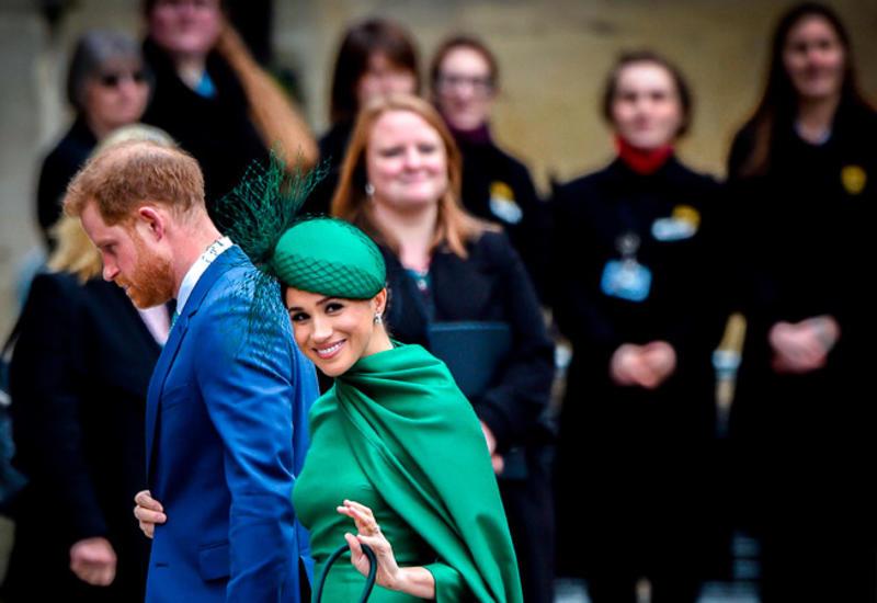 Принц Гарри и Меган Маркл официально покинули королевскую семью