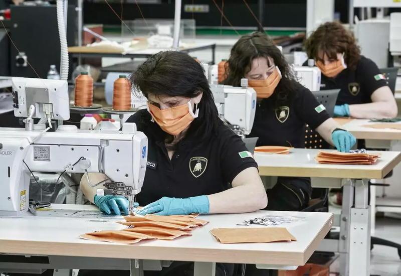 Lamborghini запустила производство медицинских масок