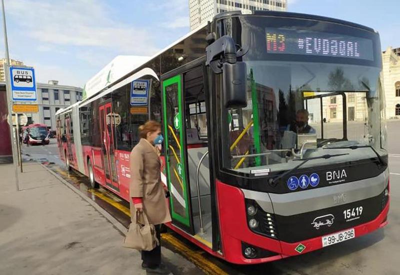Меняется график движения экспресс-автобусов в Баку