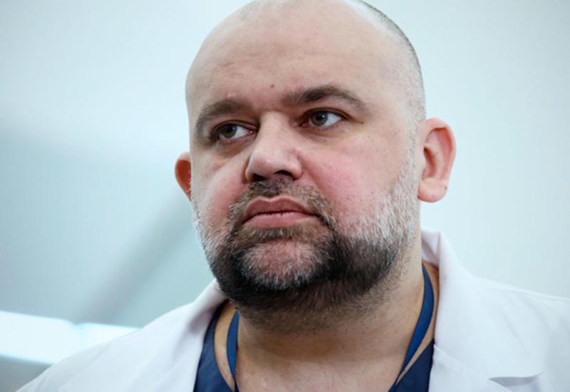 Главврач российской больницы, сопровождавший Путина, заразился коронавирусом