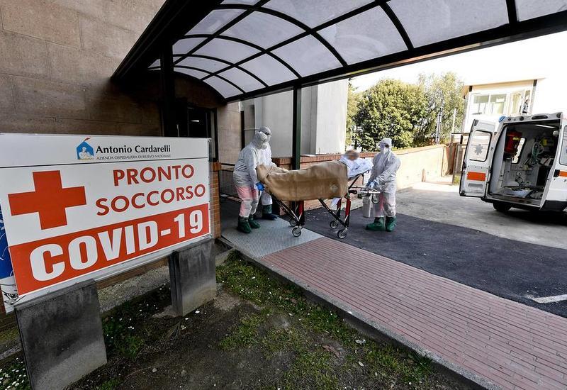 В Италии число жертв пандемии почти достигло 14 тысяч