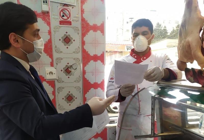 В Баку выявлены пункты продажи непригодного к употреблению мяса