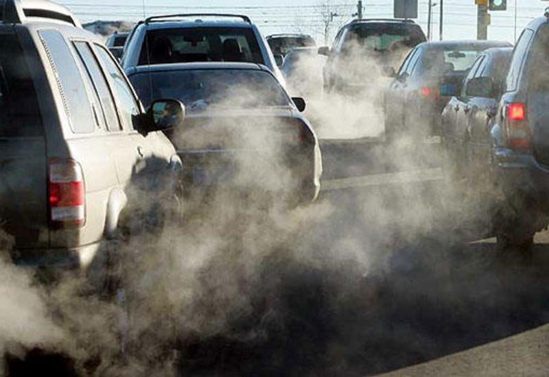 В Азербайджане снизились вредные выбросы автомобилей