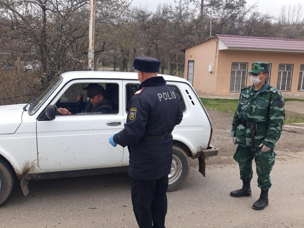 Qusar polisi tərəfindən profilaktik tədbirlər davam etdirilir