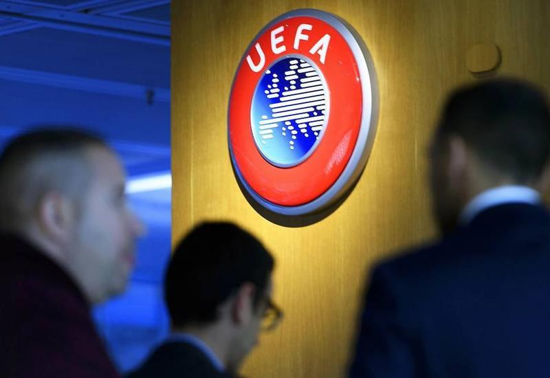 Матчи футбольных еврокубков будут начинаться с минуты молчания