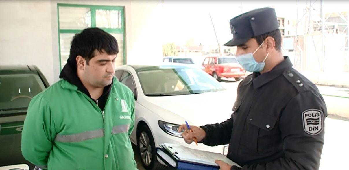 В Гяндже оштрафованы нарушители карантинного режима
