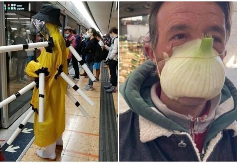 Убойные и нелепые способы защиты от коронавируса