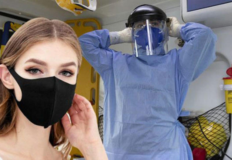 Maskaların bu hissəsində virus daha çox yaşayır