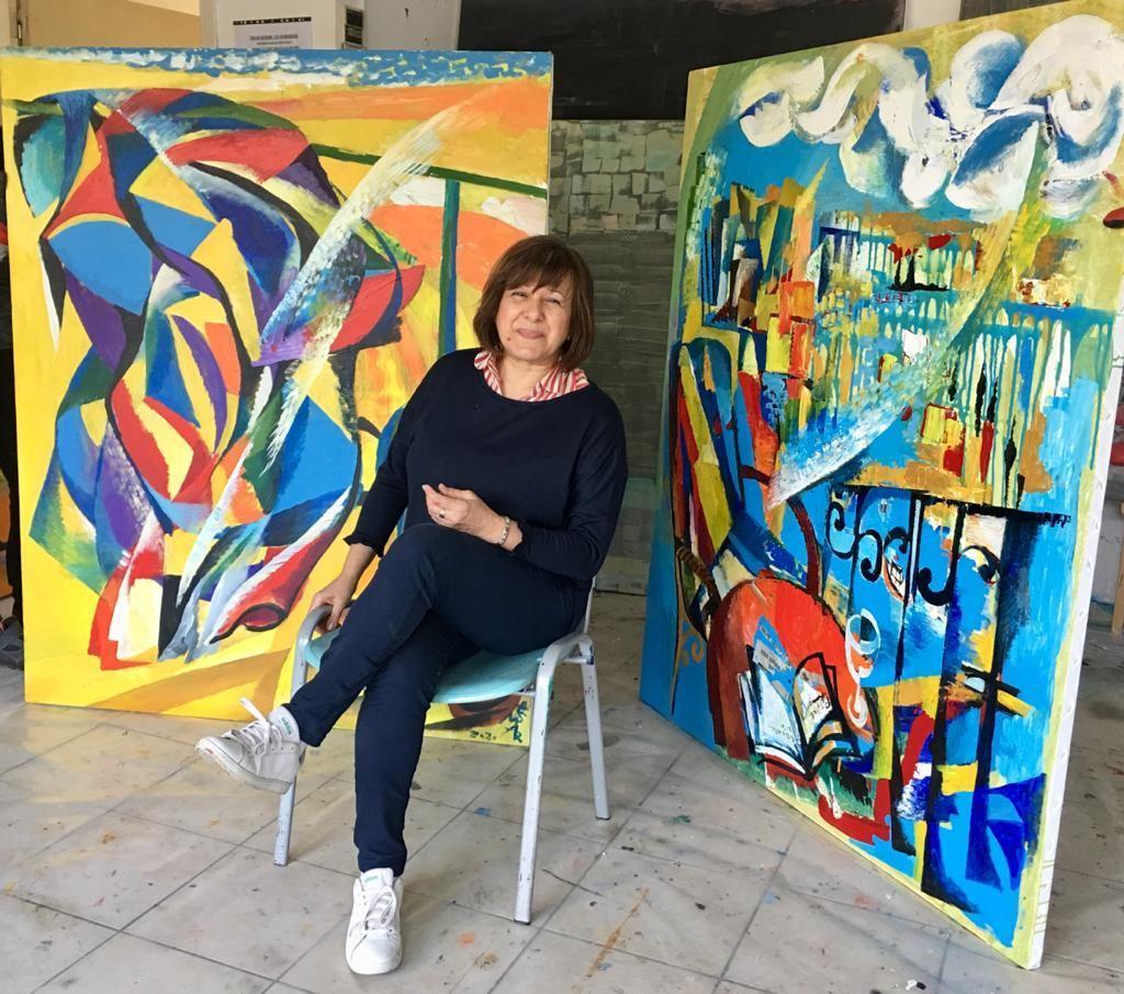 Азербайджанские художники на Кипре готовят работы, посвященные борьбе с коронавирусом
