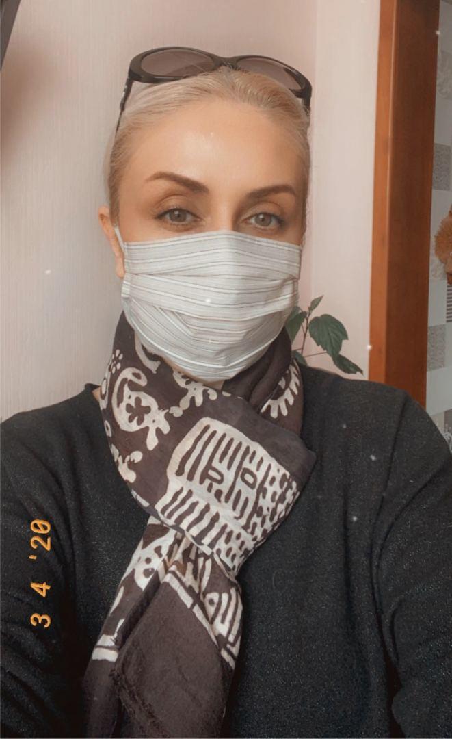 Gülnarə Xəlilova unikal maskalar hazırlayıb