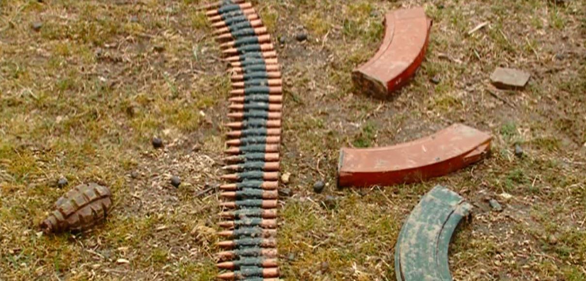 Goranboyda silah-sursat tapılıb