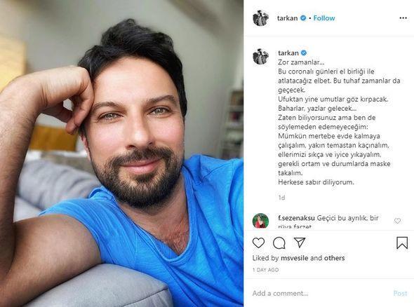 """Tarkandan """"Evdəqal"""" paylaşımı"""