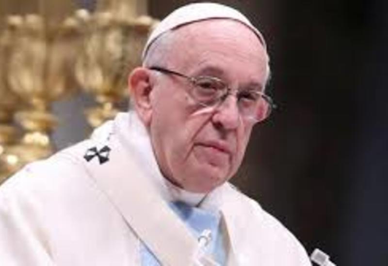Папа Римский начал ритуалы Страстной недели, отслужив мессу в пустом соборе Святого Петра