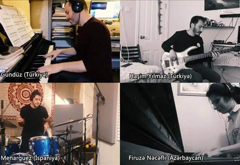 Музыканты из Азербайджана, Турции и Испании выразили свою любовь под #StayAtHome
