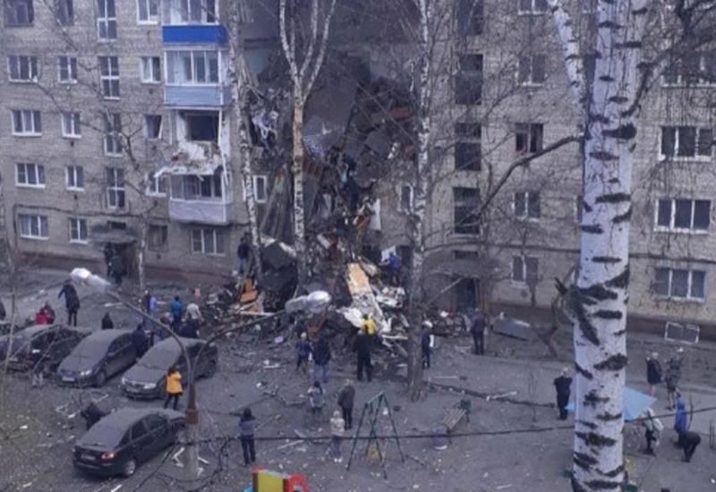 В Москве в жилом доме прогремел взрыв, много пострадавших