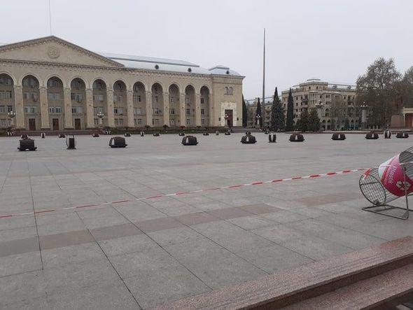 В Гяндже Внутренние войска контролируют карантинный режим