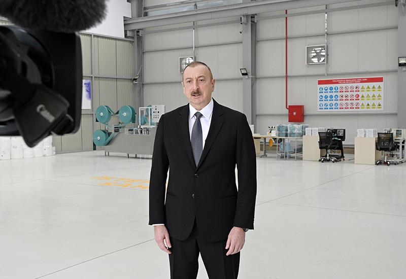 Президент Ильхам Алиев: В Азербайджане все предпринятые до сих пор превентивные меры дали свой эффект