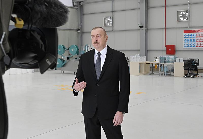 Президент Ильхам Алиев: В ближайшее время планируется создание современных больниц в Баку и ряде регионов