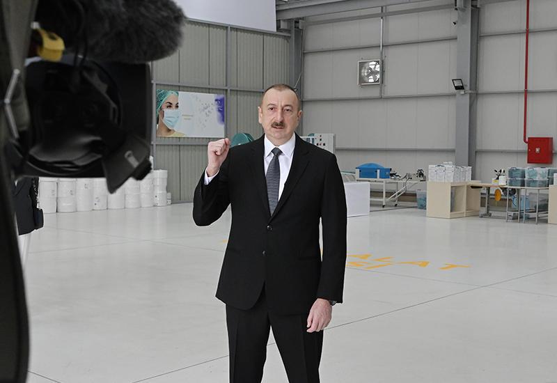 Президент Ильхам Алиев: После 20-го апреля мы предпримем шаги по борьбе с коронавирусом в соответствии со сложившейся ситуацией