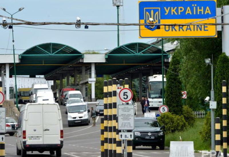 Украина закрыла пешеходные переходы на границе