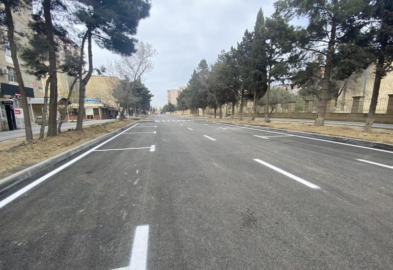 В Баку перестраивается еще одна улица