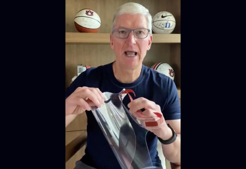 Apple снабжает врачей приспособлением, предотвращающим заражение COVID-19