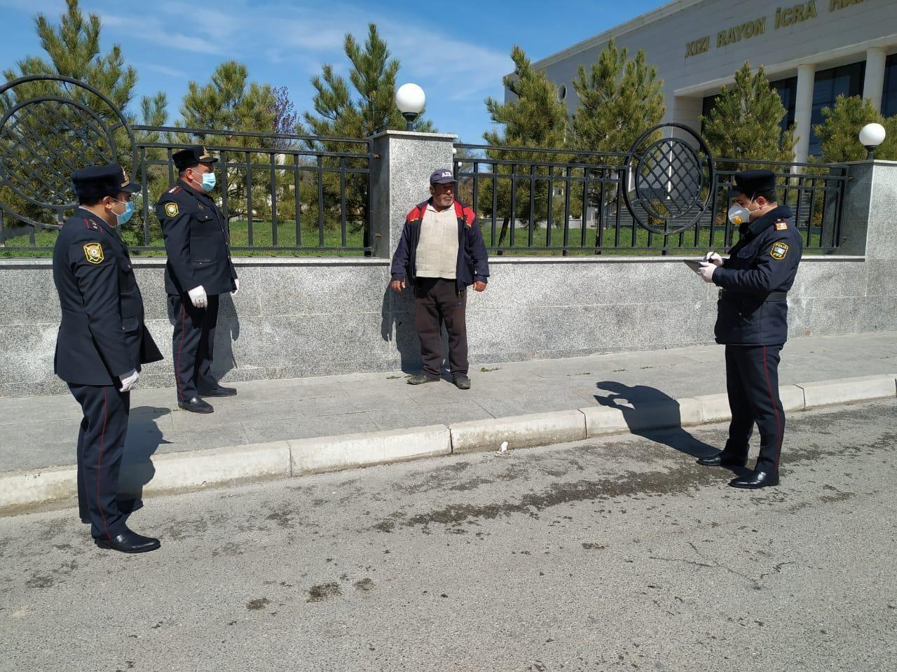 За нарушение карантинного режима в Хызы привлечены к ответственности 15 человек