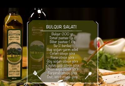 """Салат булгур с оливковым маслом <span class=""""color_red"""">- ВИДЕО (R)</span>"""